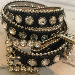 Christine Alexander Sworovsky Crystal Belt